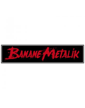 """BANANE METALIK - """"Logo"""" patch"""