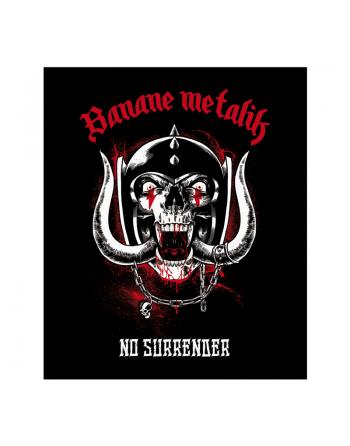"""BANANE METALIK - """"No Surrender"""" back patch"""