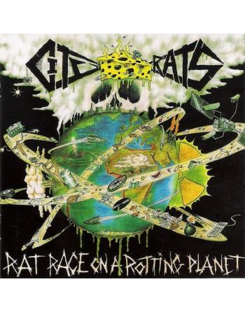 "CITY RATS - ""Rat race on a rotting planet"" Vinyl"