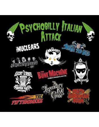 PSYCHOBILLY ITALIAN ATTACK -  Vinyl compilation