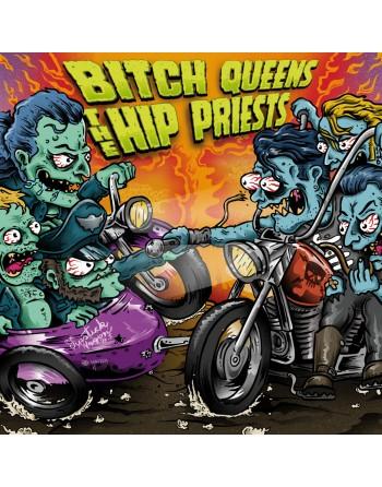 """BITCH QUEENS / THE HIP PRIEST - """"Split"""" Vinyl"""