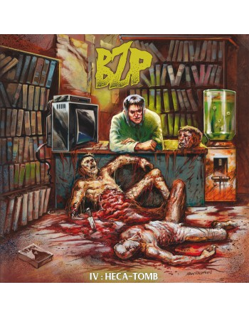 """THE BLACK ZOMBIE PROCESSION - """"Heca-tomb"""" CD"""