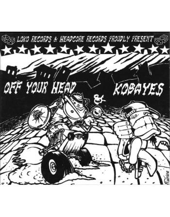 KOBAYES & OFF YOUR HEAD - Split CD
