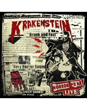 """KRAKENSTEIN - """" Drunk and fast"""" CD"""