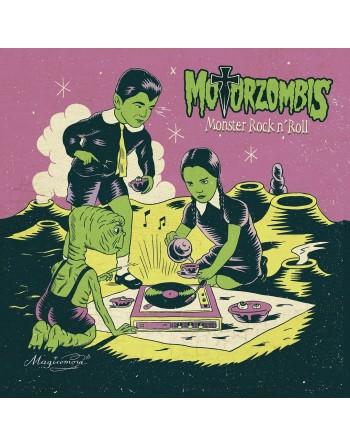 "MOTORZOMBIS - ""Monster Rock'n'Roll"" CD"