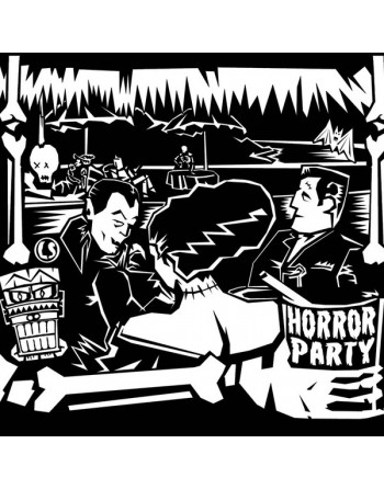 """THE LUCKY STRIKES - """"Horror party"""" CD"""