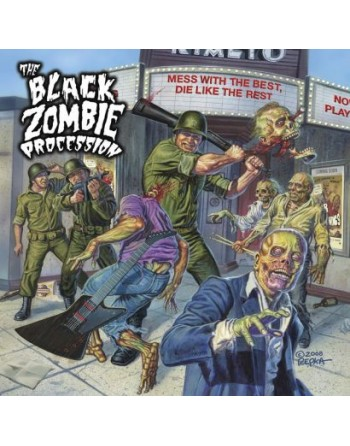 """THE BLACK ZOMBIE PROCESSION - """"Mess with the best, die like the rest"""" CD"""