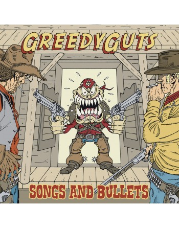 "GREEDYGUTS - ""Songs and bullet"" CD"