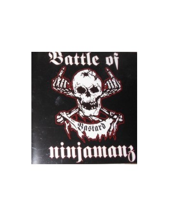 "BATTLE OF NINJAMANZ - "" Bastard"" CD"