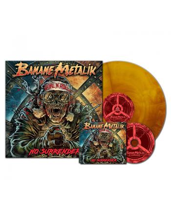 "BANANE METALIK - ""No Surrender"" pack CD & Vinyl"