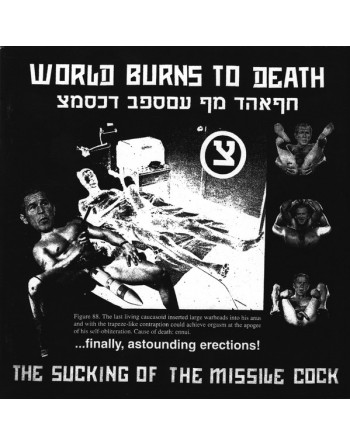 """WORLD BURNS TO DEATH - """"The sucking of the missile cock"""" CD"""