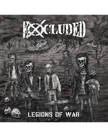 "EXCLUDED - ""Legions of war"" Vinyl"