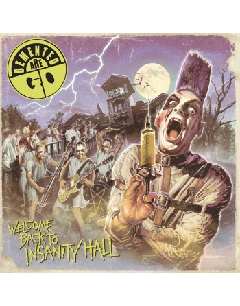 """DEMENTED ARE GO -  """"Welcome back to insanity hall"""" Vinyl"""