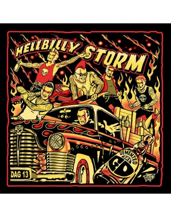 "DEMENTED ARE GO - ""Hellbilly Storm"" Vinyl"