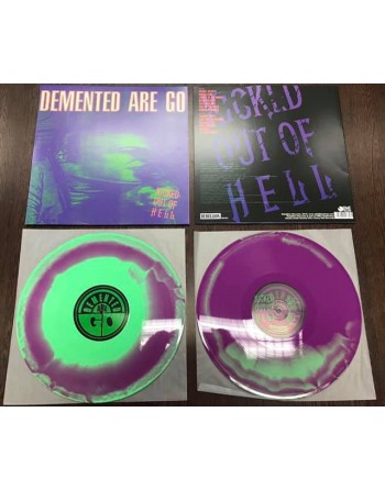 """DEMENTED ARE GO - """"Kicked out of hell"""" Vinyl"""