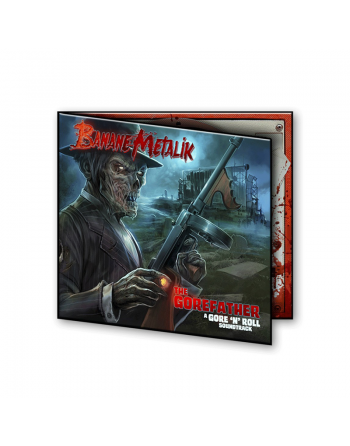 """BANANE METALIK - """"The Gorefather"""" CD"""