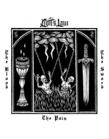 """LION'S LAW - """"The Pain, the blood and the sword"""" Vinyl"""