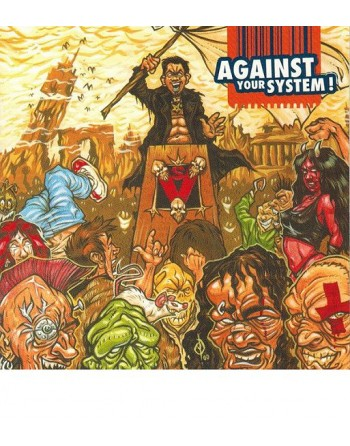 AGAINST YOUR SYSTEM Compilation - CD