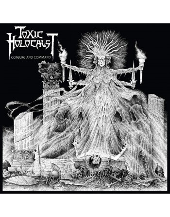 """TOXIC HOLOCAUST - """"Conjure and command"""" Vinyl"""