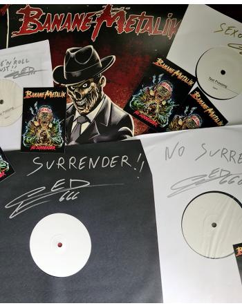 """Banane Metalik - """"No surrender"""" LP Testpressing"""