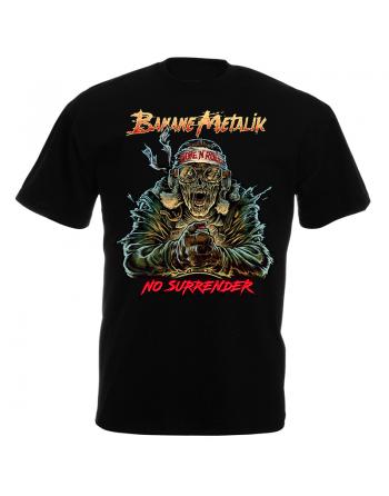 """BANANE METALIK - """"No Surrender"""" men T-shirt"""