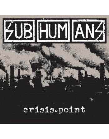 "SUBHUMANS - ""Crisis point"" Vinyl"