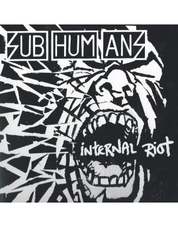 "SUBHUMANS - ""Internal riot"" Vinyl"