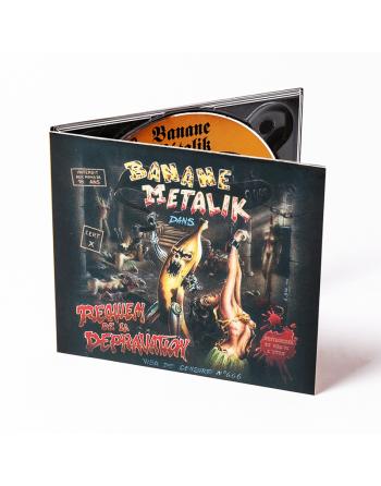 """BANANE METALIK - """"Requiem de la Dépravation"""" CD"""