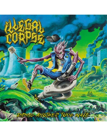 """ILLEGAL CORPSE """"Riding Another Toxic Wave"""" Vinyl"""