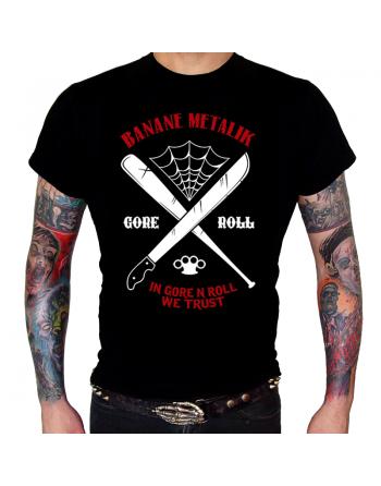 """BANANE METALIK - """"Machete"""" men T-shirt"""