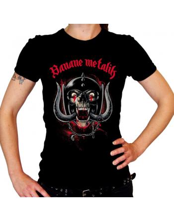 "BANANE METALIK - ""MotörBM"" women T-shirt"
