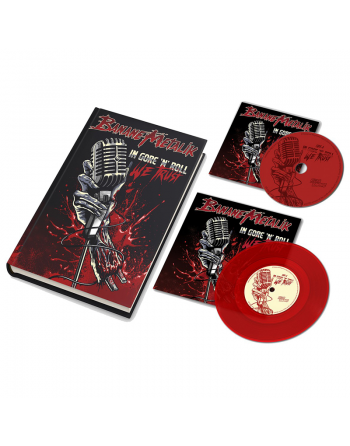 "BANANE METALIK - ""In Gore'n'Roll we trust"" fullpack Artbook, CD, Vinyl"
