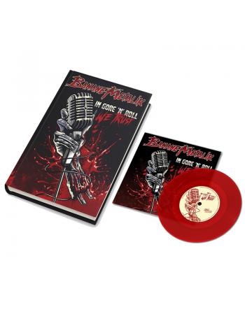 """BANANE METALIK - """"In Gore'n'Roll we trust"""" pack Artbook & Vinyl"""